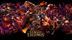 League of Legends Red Wallpaper by ViciousBlue