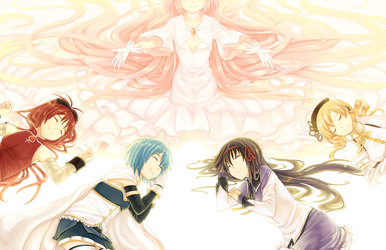 Madoka Magica: You are not alone by PokeyPokums