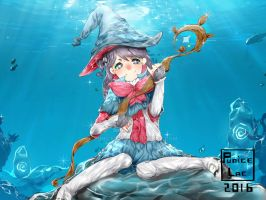 Deep Sea Witch by PuniceLac