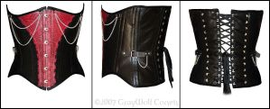 JohnnyK Corset :male: by Illahie