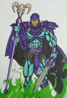 Skeletor - Master of the Universe by Wyn83