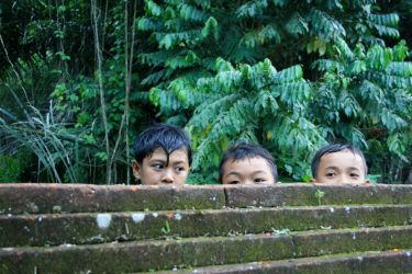Balinese children by accessQ