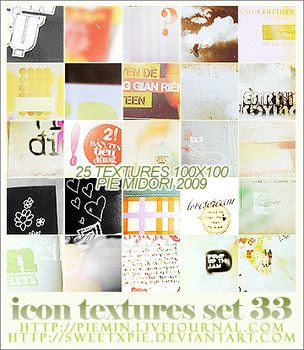Icon Textures set 33 by sweetxpie
