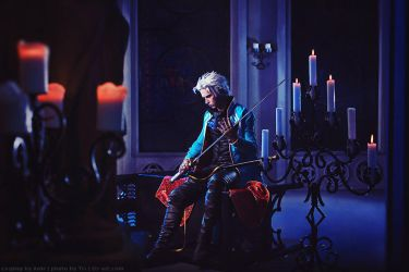 Cosplay: Vergil - Devil may cry 3 by Aoki-Lifestream