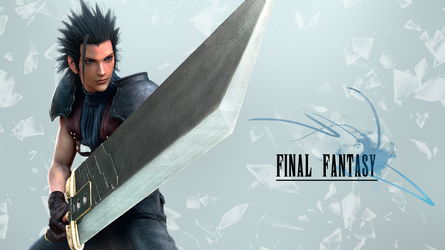 Final Fantasy Wallpaper (Zack Fair) by JaidynM