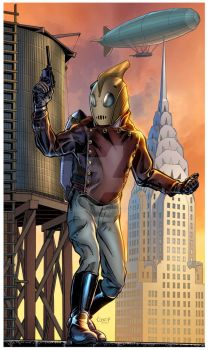 Rocketeer by dcooneyart