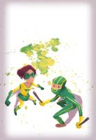 Boltie Kick-Ass by Andry-Shango