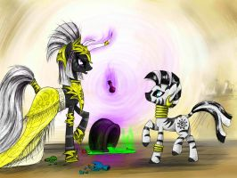We have a mission for you, silly zebra. by MadHotaru