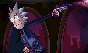 Rick and Morty is back! Season 3! by Torivic