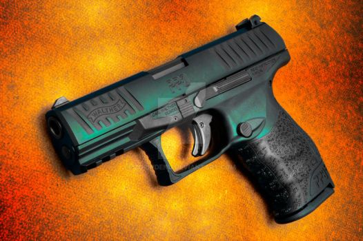 Walther PPQ M2 (Colors Print) by ZorinDenu