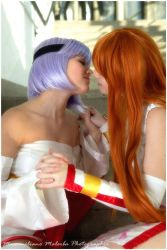 Kasumi and Ayane Dead or alive - incest by xRika89x