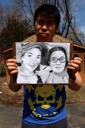 Sieon and Mother Drawing Photoshoot by ManHoPark
