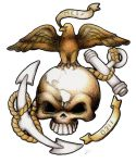 USMC Custom tattoo design by dustMights
