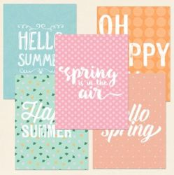 Summer Cards by kikarr