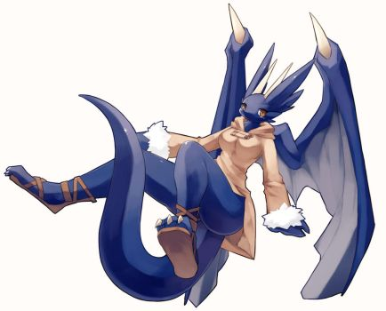 dragon girl by murasuke