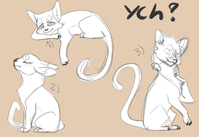 [CLOSED] Cats in love - YCH by HappyOreoDay