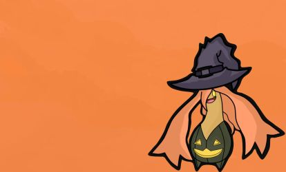 Gourgeist WitchHat by RamdomDrawer