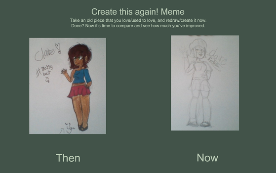 Draw this again meme 3.0 by ScottDaCat