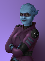 Peebee in Portrait by Miltonholmes