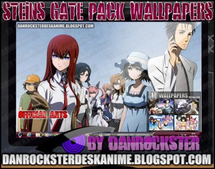 Steins Gate Pack Wallpapers by Danrockster