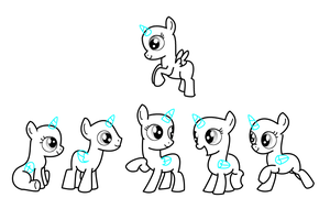 Foal Group base by jazzlovessilkies