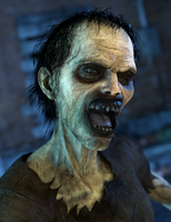 080314 Zombie Interview by digitalgreenlifeart