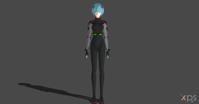 Rei Ayanami - Evangelion 3.0 You can (not) Redo by OTsunaO