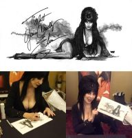 Meeting Elvira by redghostman