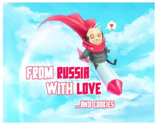 From Russia With Love by cryo-draws