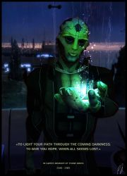 Thane Krios by Luceija