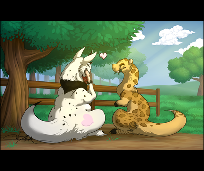 [C] A Nice Day to Spend with You by SqueakyArts