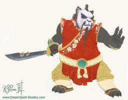 Papercraft Pandaren Monk by Dreamspirit