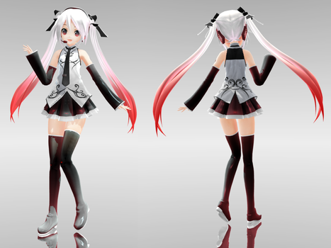 Appearance Costume Arrangement B Miku .:DL!:. by Emiria-kun
