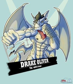 The White Dragon Drake Oliver! by Cationalfa