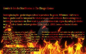 Gender And Gender Strat. in The Hunger Games by MHuang51491