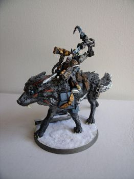 Iron Priest Space Wolves by Kasuki-Seal