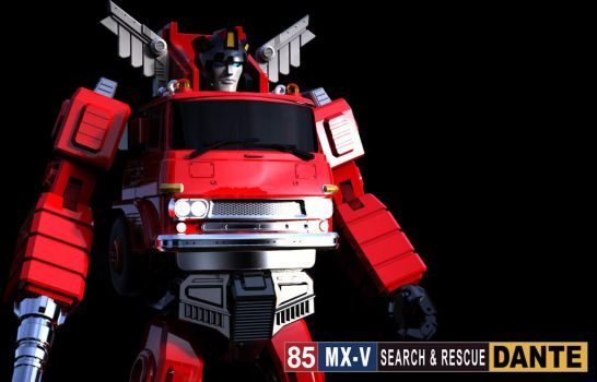 X-Transbots: Dante (Preview) by 539Designs