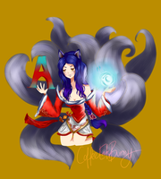 A is for Ahri by CoffeeEatsBunny