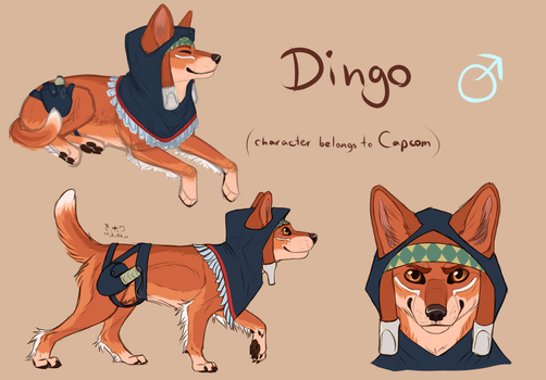 Dingo dog-design [Fanart] by Mihoku-san
