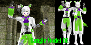 [MMD] Male Tangle Model DL by ZexionStrife
