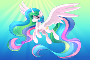 Princess Celestia by TheNornOnTheGo