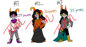 FANTROLLS POINT ADOPTS! (CLOSED) by QueenPeaceKitty