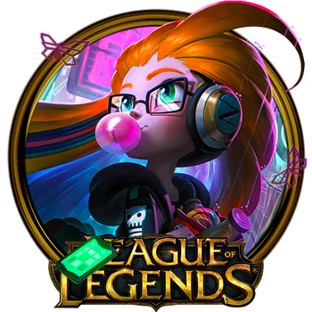 Zoe The Aspect of Twilight Dock Icon by OutlawNinja