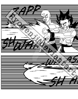 Dragon ball RoR special chapter WIP by RyoGenji