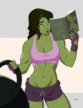 She Hulk Commission 2 by Mro16