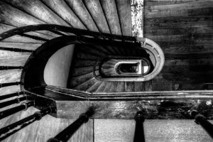 Stairwell: lines and textures by aglezerman