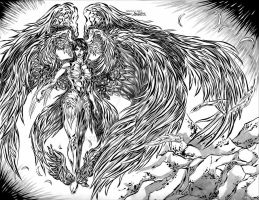 Archangel / Metatron by InkWorthy