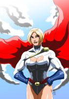 Power Girl by adamantis