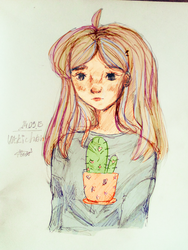 litle cactus by VickiGreat