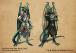 Tales of Arcana 1st Set - Draconic by TalesofArcanaRPG